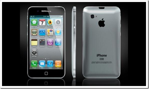 Ispazio.net Entwurf des iPhone 5